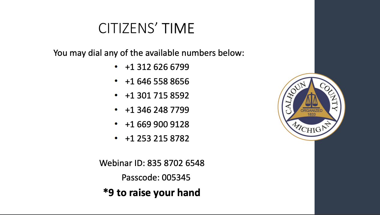 Citizens Time for Dec. 3