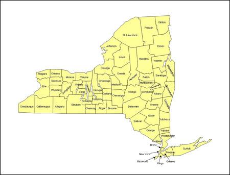 Nys Assembly District Map District Maps