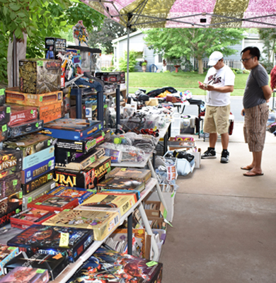 Garage Sale Web Games