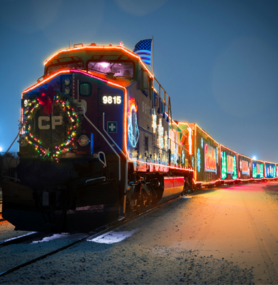 Holiday Train Web