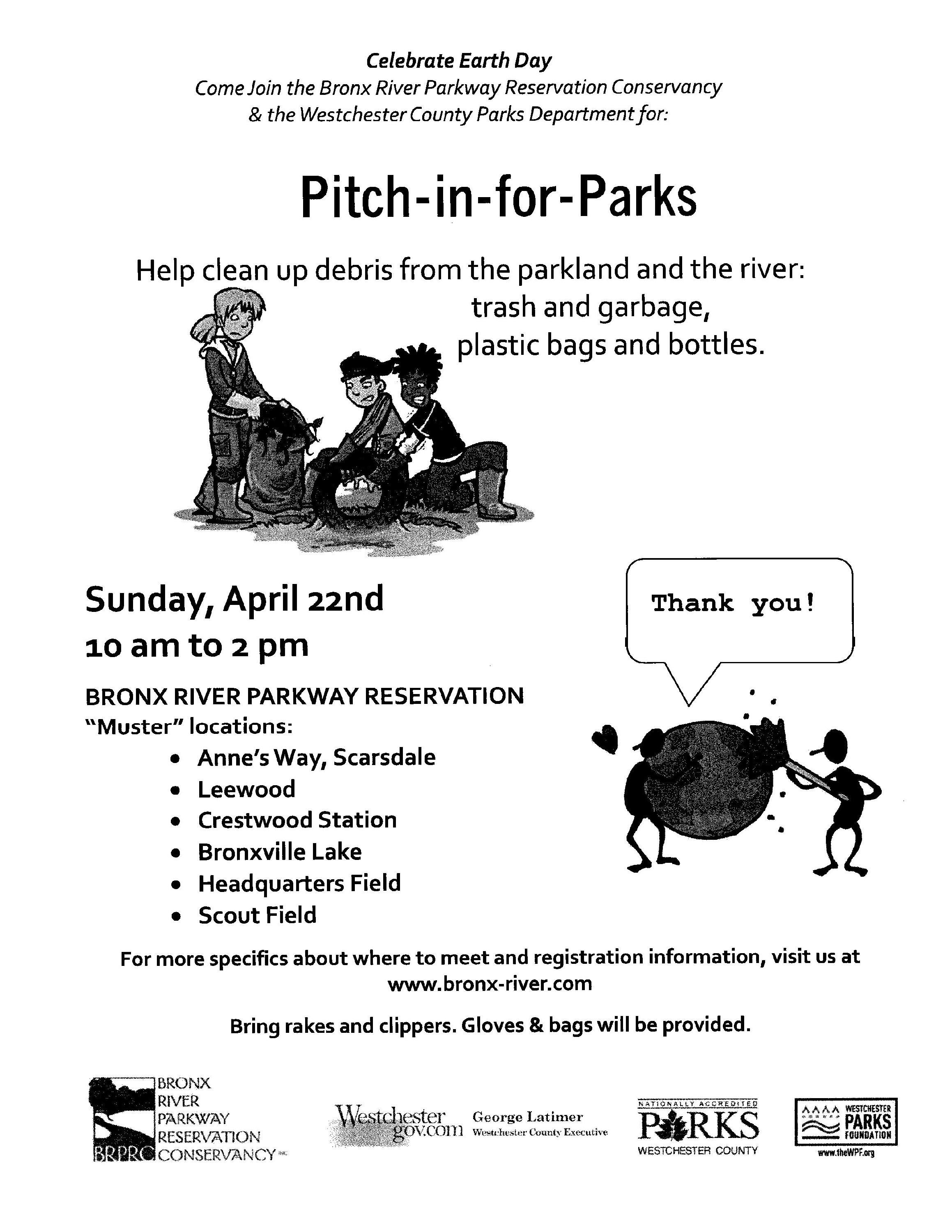 Pitch in for Parks