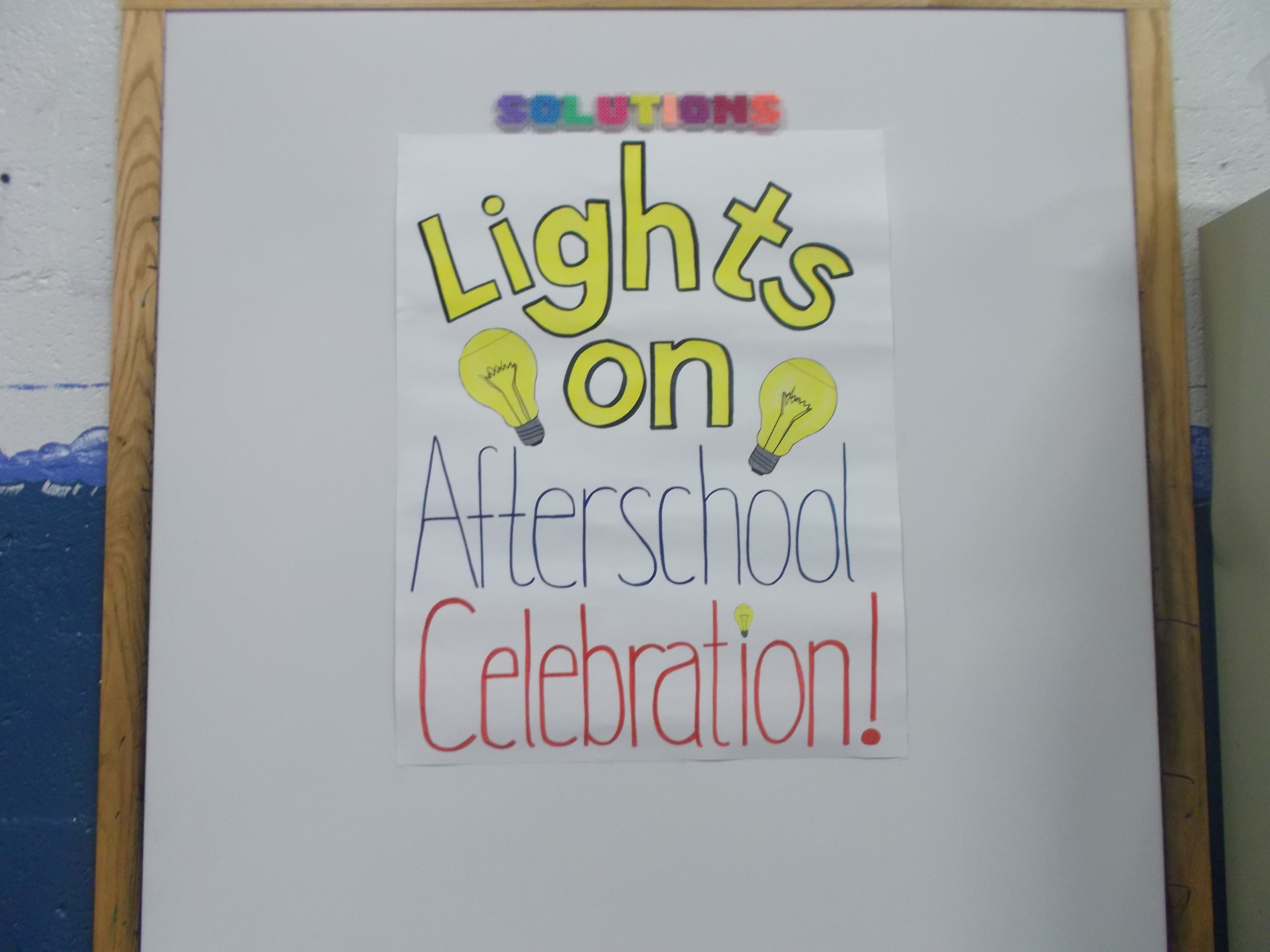 Lights on Afterschool 2014