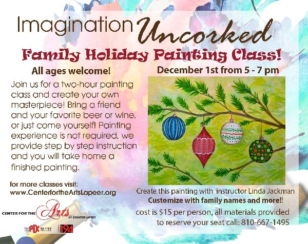 Featured Painting Uncorked Holiday 2018