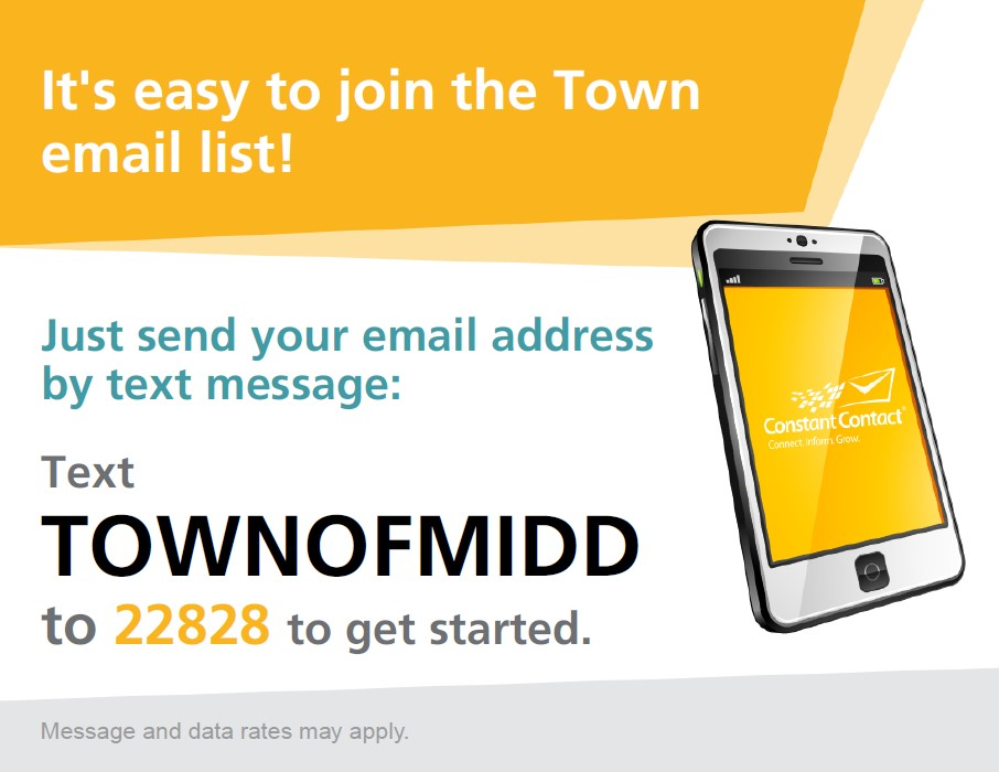 Text to Join Email Sign