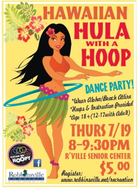2018 Hawaiian Hula Party