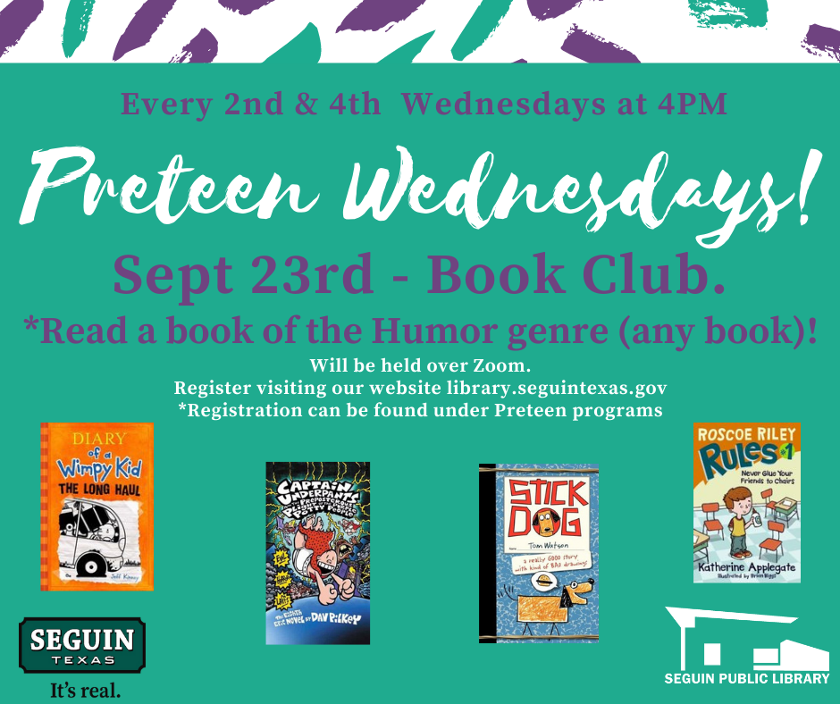 Pre-teen Wednesdays! (1)