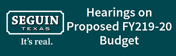 FY2020 Proposed Budget Hearings