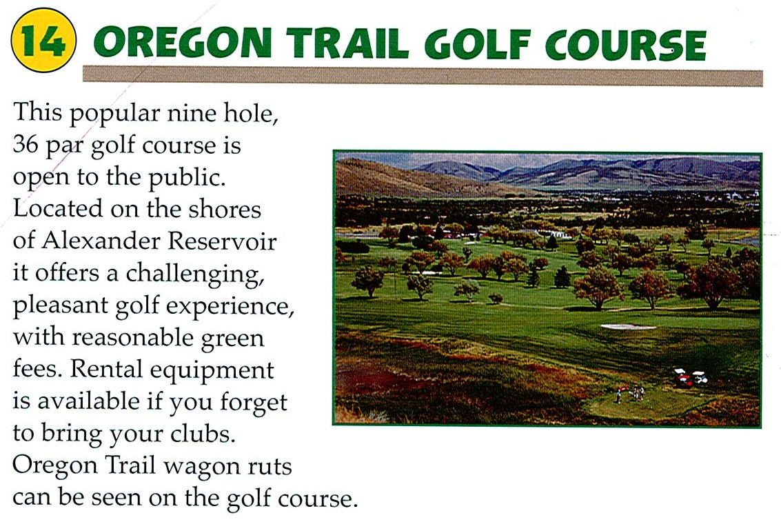 14 Oregon Trail Golf Course
