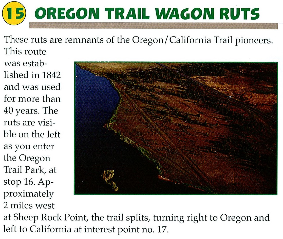 15 Oregon Trail Wagon Ruts