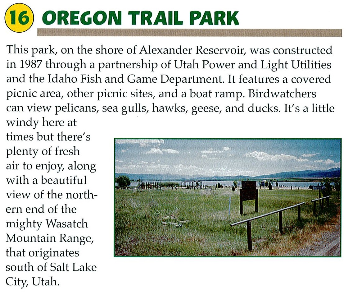 16 Oregon Trail Park
