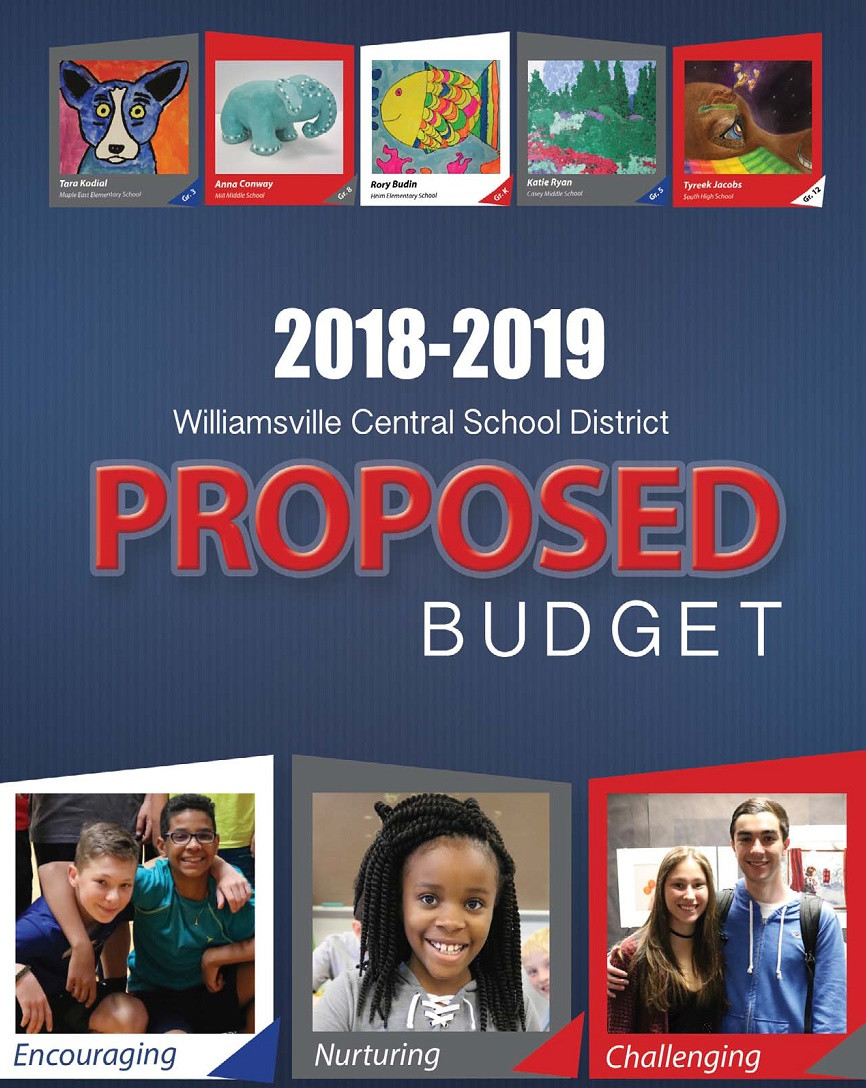 2018-19 Budget Summary Cover