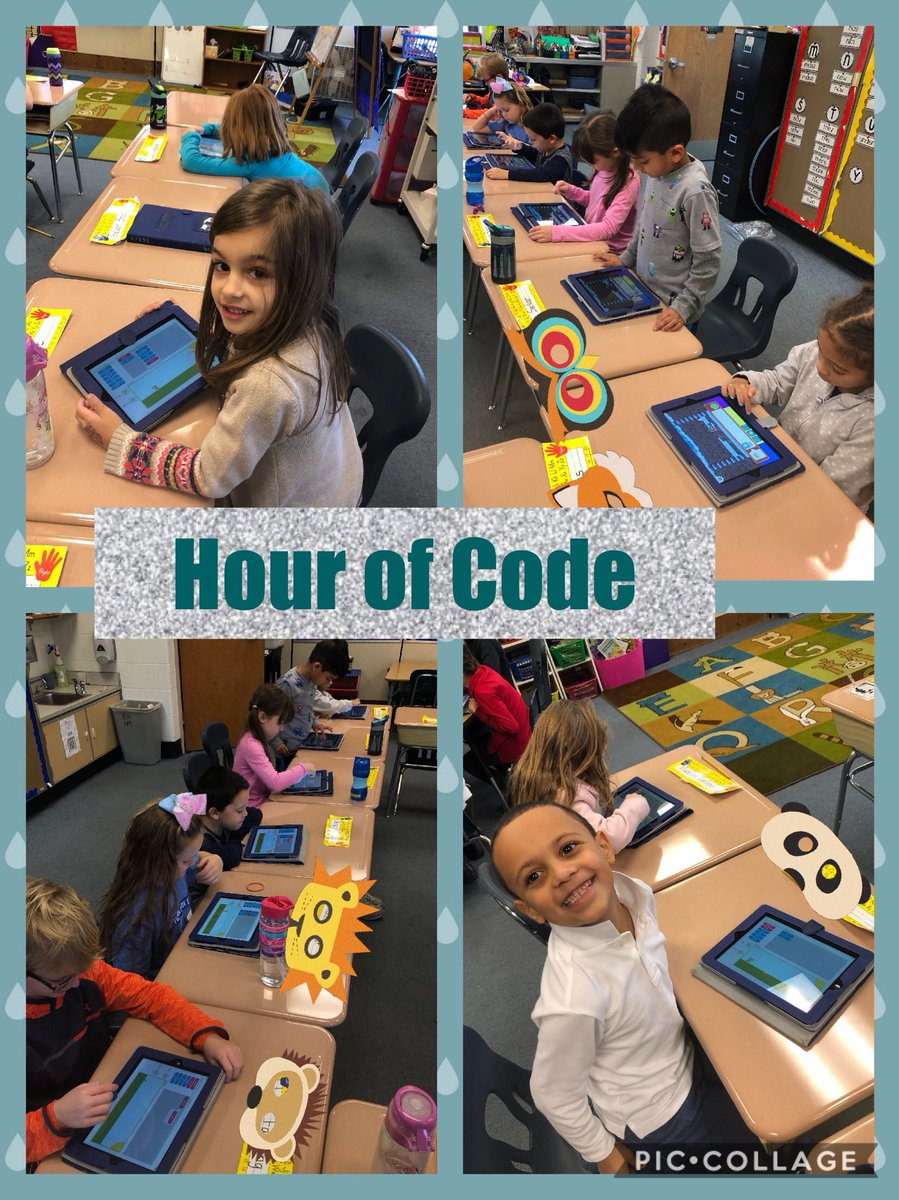 Hour of Code collage